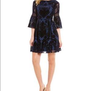 🎉SALE🎉Eliza J Velvet Burnout Dress